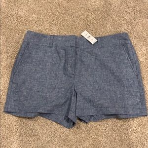 "Loft Outlet 4"" shorts, size 12"
